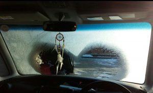 フロントガラス 車